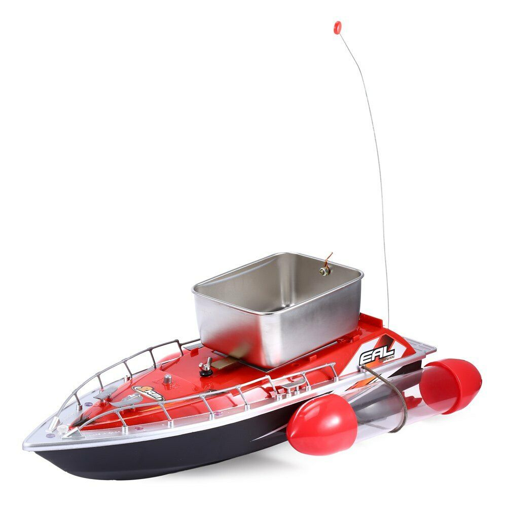 Mini rc wireless fishing lure bait boat 200m remote for Mini fishing boats