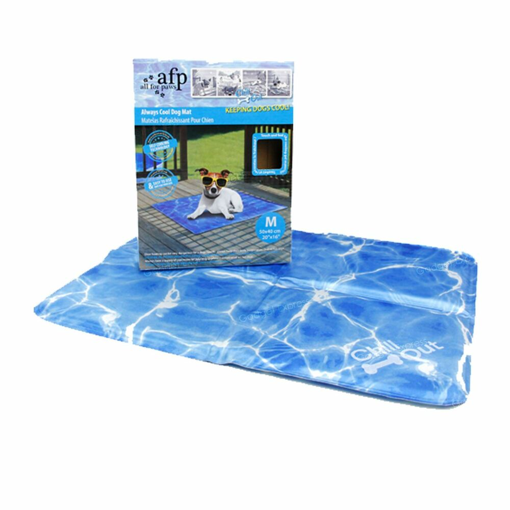 50cm Dog Puppy Pet Chill Out Bed Mat Summer Self Cooling