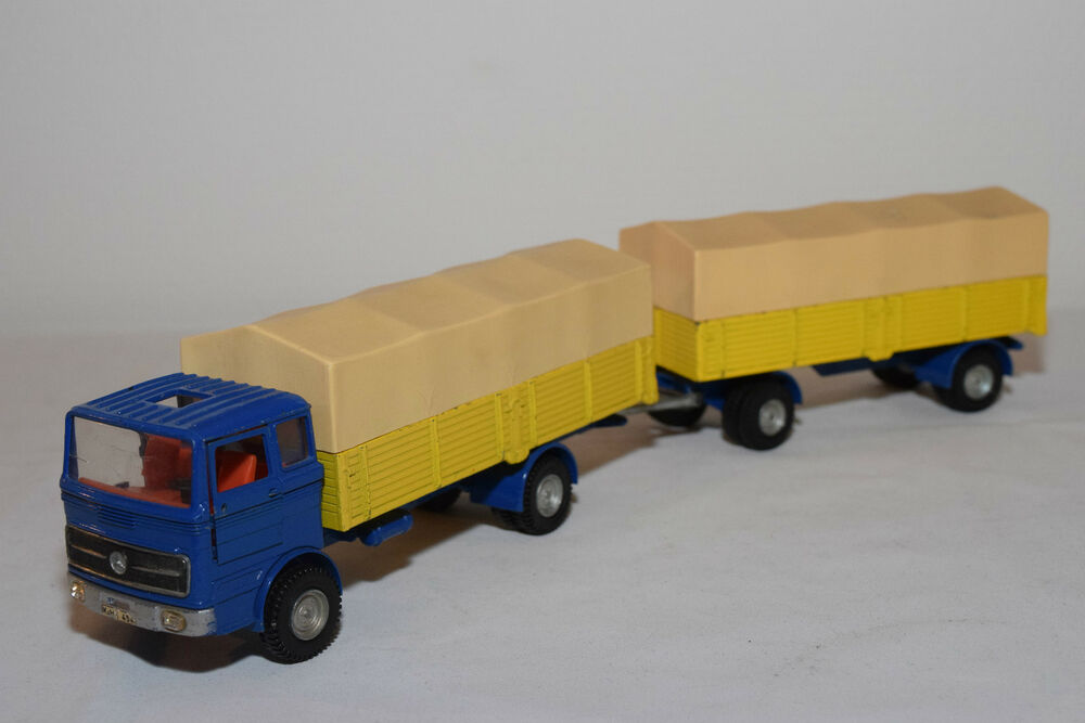 Dinky toys 917 mercedes benz lp 1920 truck with trailer for Mercedes benz truck toys