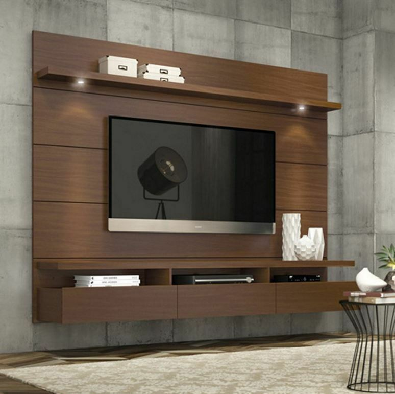 entertainment center modern tv stand media console wall. Black Bedroom Furniture Sets. Home Design Ideas