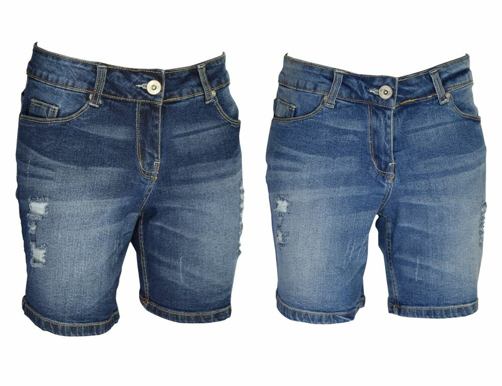 Ripped Denim Shorts | eBay