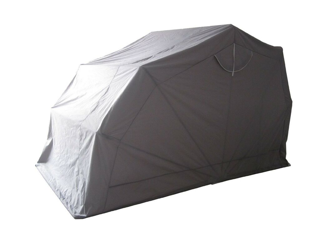 Waterproof anti uv foldable motorcycle storage tent cover ebay - Motorcycle foldable garage tent cover ...