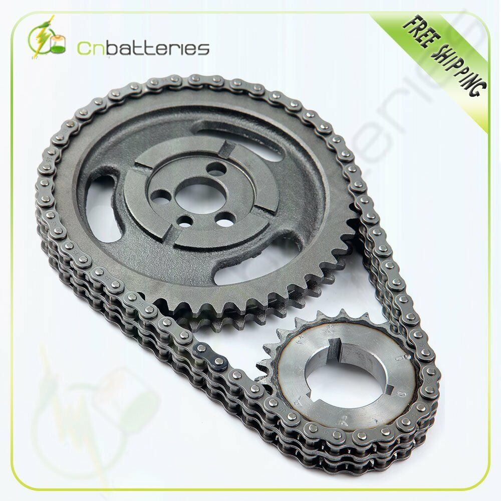 Chevrolet Performance 12562818 Timing Chain Cover: Roller Timing Set For Chevy 350 400 327 305 283 383 262