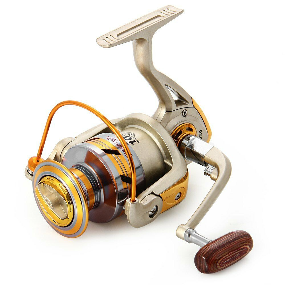Hot ef 1000 to ef 7000 spinning fishing reel 10bbs 5 5 for Ebay fishing reels