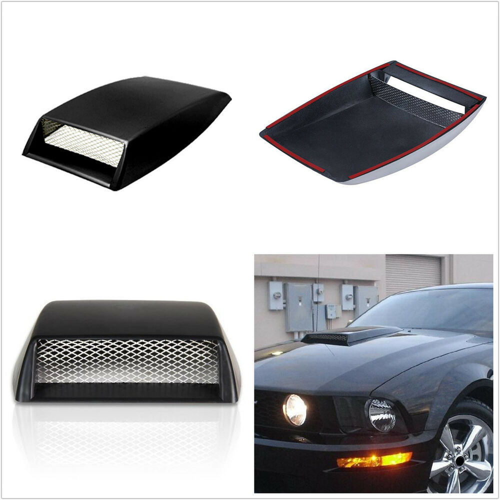 Air Scoops For Cars : Universal auto car hood air flow intake scoop bonnet vent