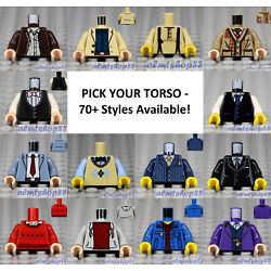 Kyпить LEGO - Torsos CITY Male - PICK YOUR STYLE - Minifigure Body Parts Vest Town B  на еВаy.соm