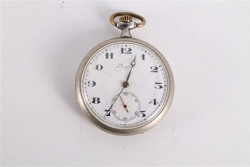 antique vintage swiss made longines open mens