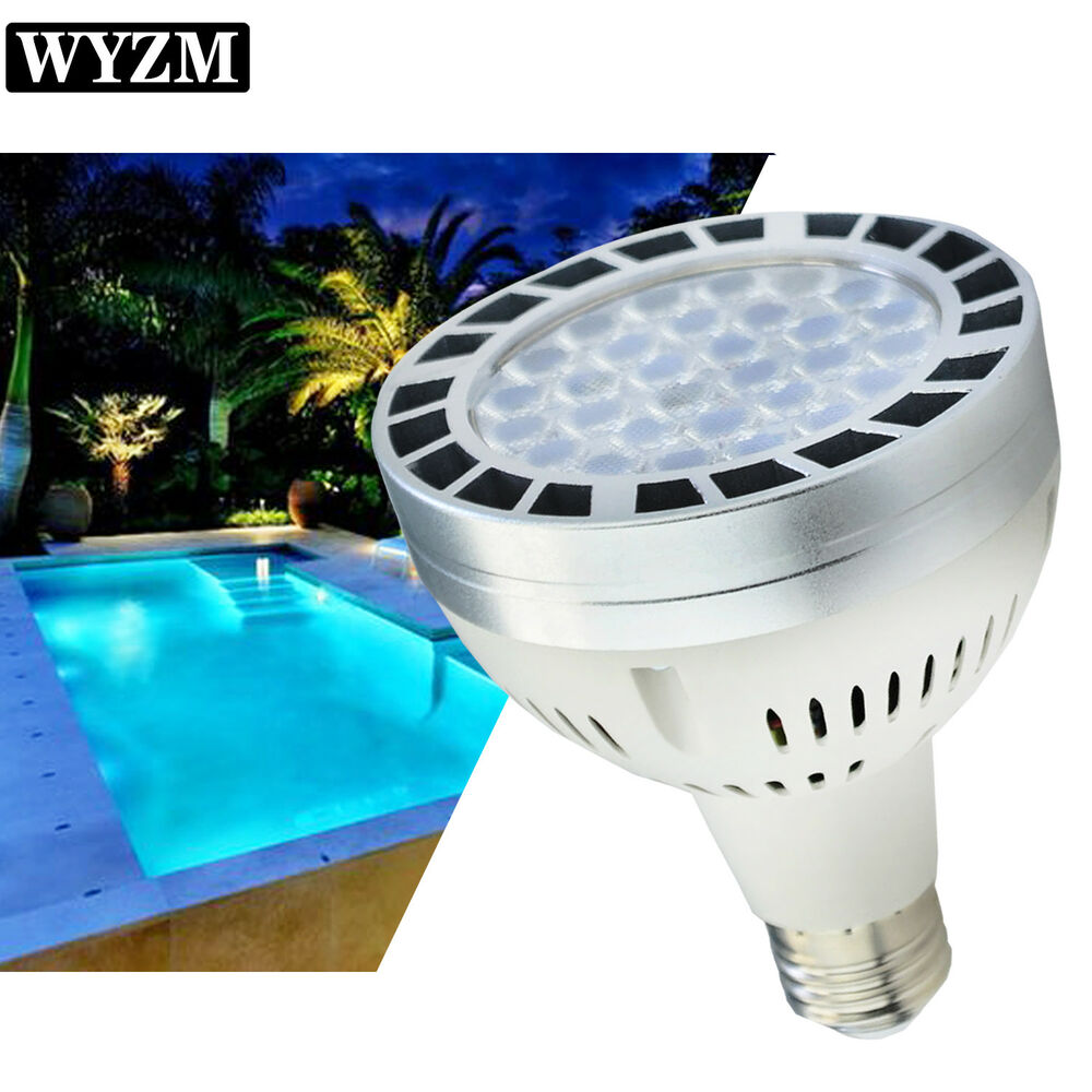 Wyzm 35w Swimming Pool Led Light Bulb Daylight Used To Replace 500w Incandescent Ebay