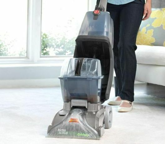 Hoover Carpet Cleaner Professional Turbo Scrub Portable