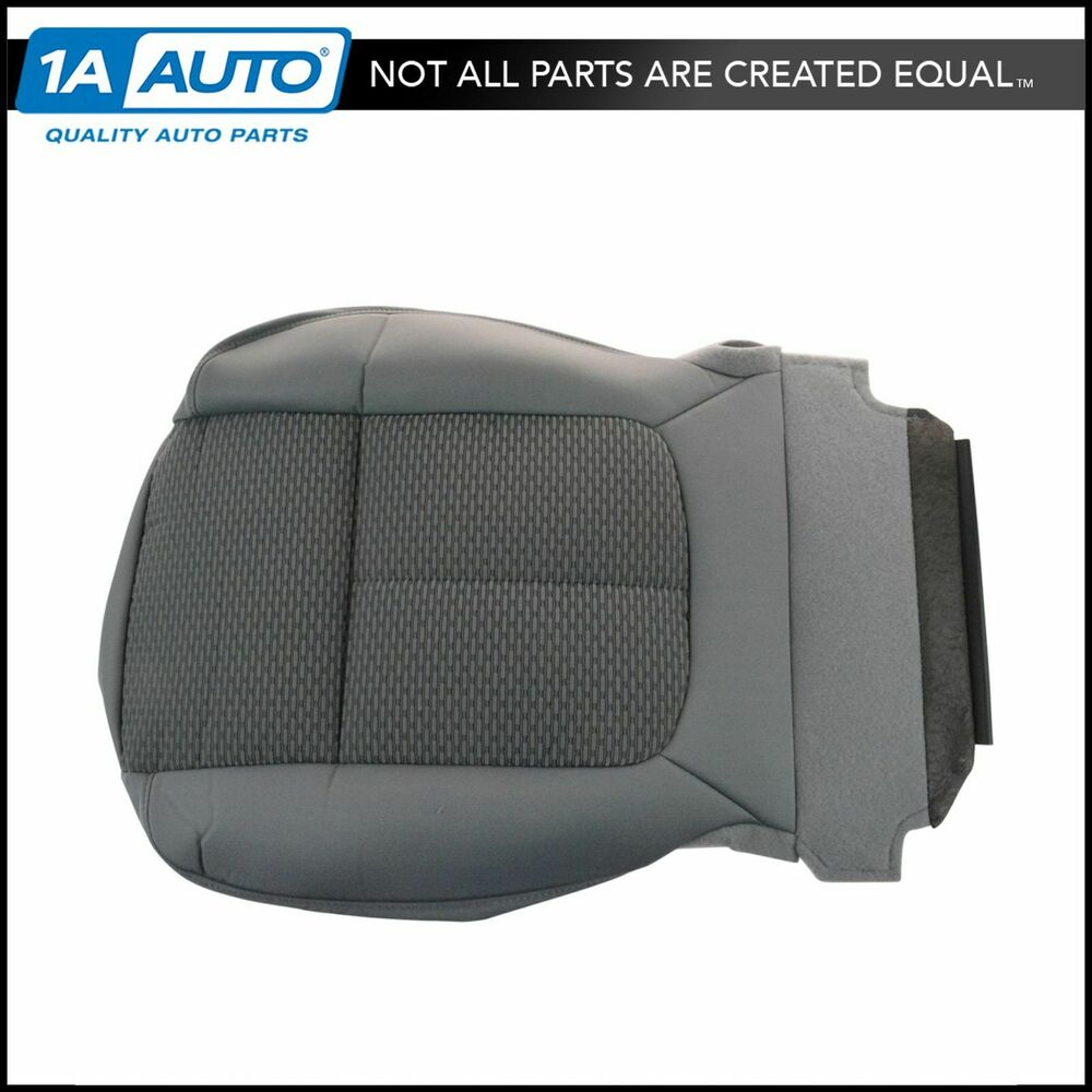 OEM Front Steel Gray Gridlock Cloth Lower Seat Bottom