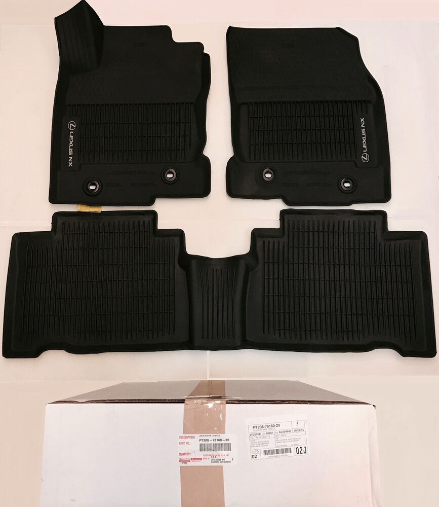 Lexus Rx350 Floor Mats: LEXUS OEM FACTORY ALL WEATHER FLOOR LINER SET 2015-2017