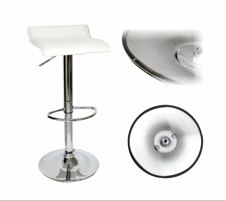 4x Bar Stool Protector Glides Rubber Floor Protection Up