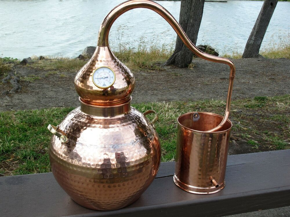 5 Gallon Copper Whiskey Still, Moonshine Still, Alembic ...