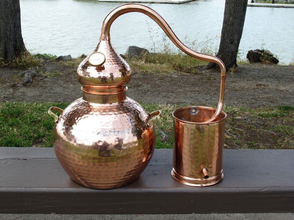 2.5 Gallon Copper Whiskey / Moonshine Still, Alembic ...