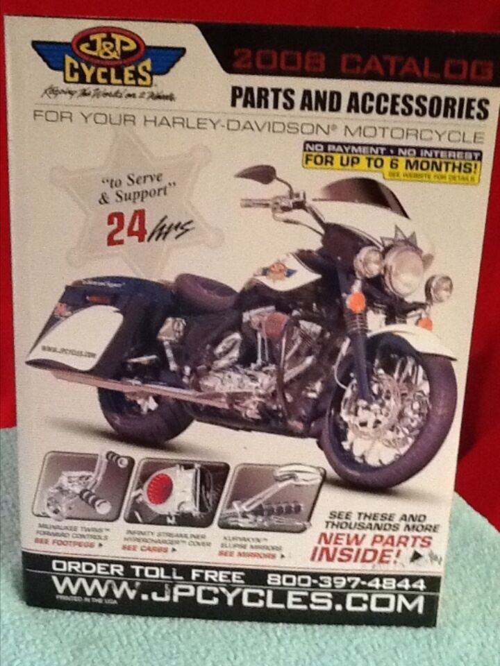 2008 j p cycle parts accessories for harley davidson motorcycles catalog ebay. Black Bedroom Furniture Sets. Home Design Ideas
