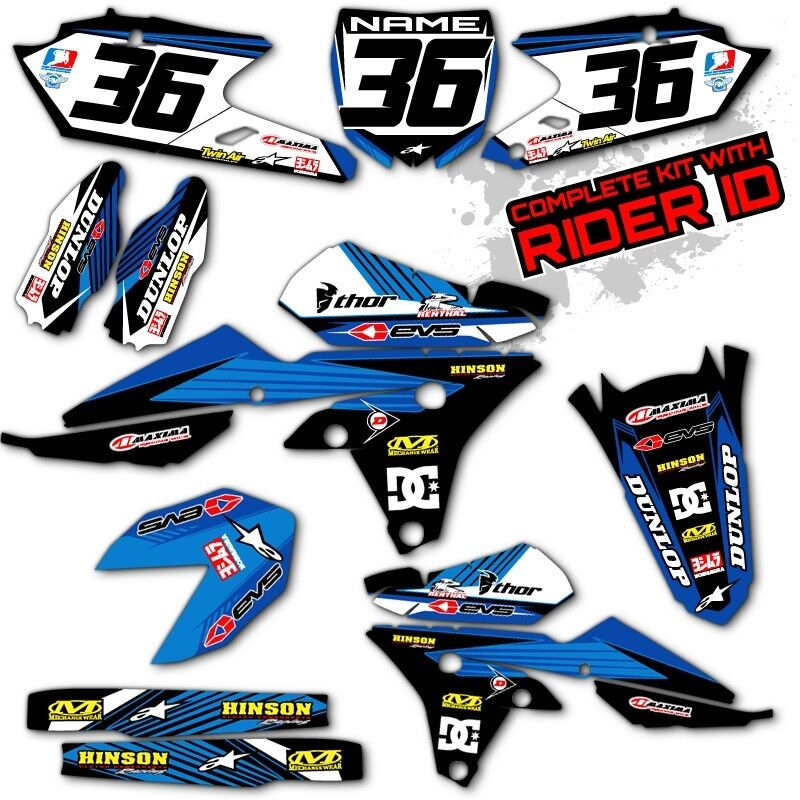 2014 2015 yamaha yz 250f yz 450f graphics kit motocross dirt bike decals deco ebay. Black Bedroom Furniture Sets. Home Design Ideas