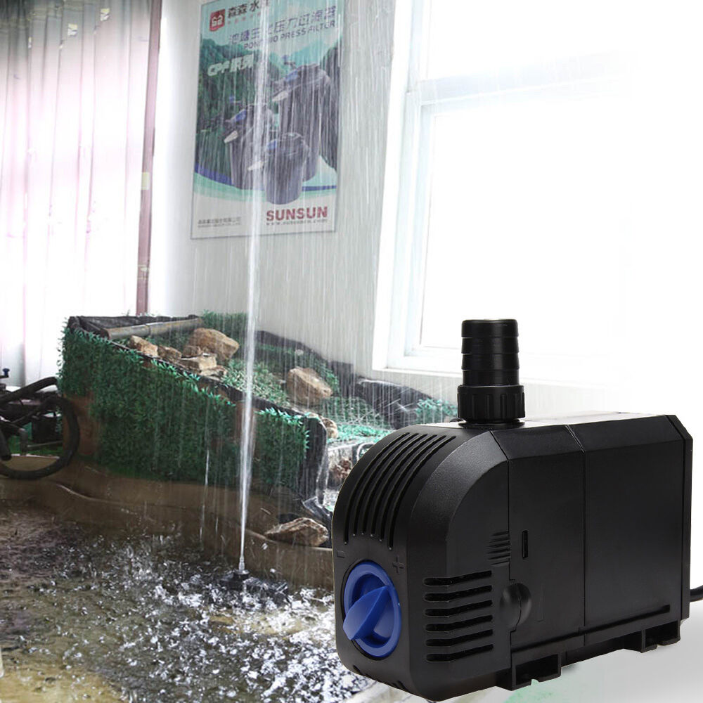 New adjustable submersible pump aquarium fish tank for Fish water pump