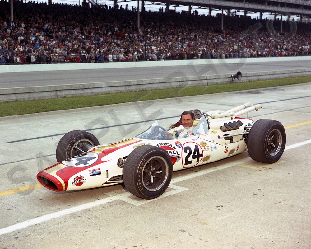 Indy Car For Sale >> GRAHAM HILL QUALIFYING LOLA T-90 1966 INDY 500 WINNER AUTO RACING 8X10 PHOTO | eBay
