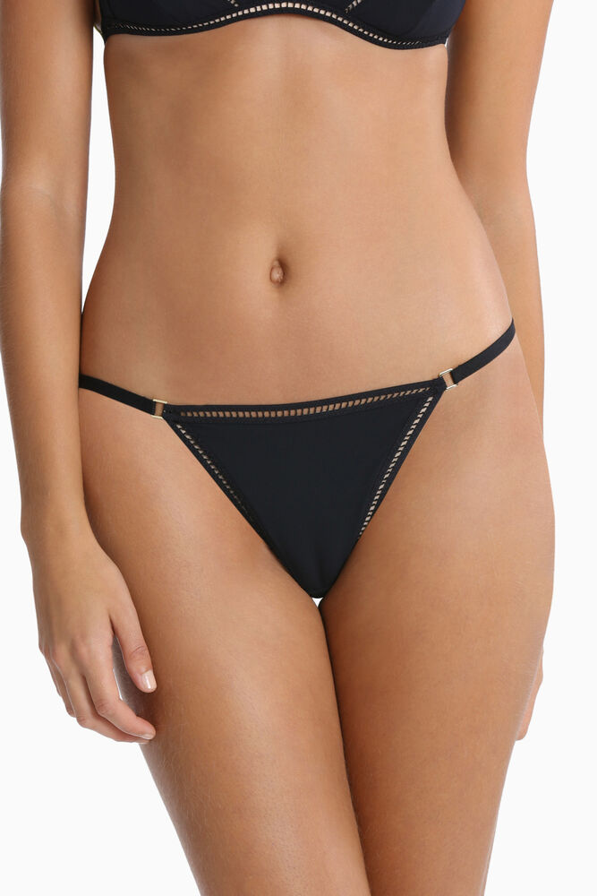 68b4ae37d5d2 Details about NEW Sass & Bide Lingerie 'First Impressions' G-String  USBW16037 Black