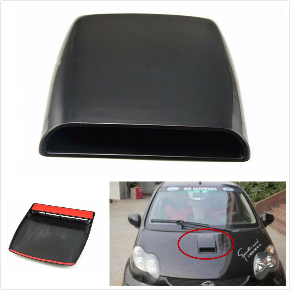 Air Scoops For Cars : Universal car suv decorative air flow front hood scoop