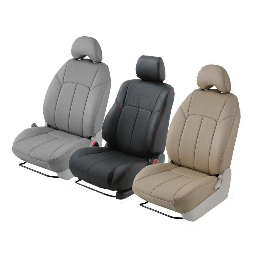 clazzio custom fit leather seat covers for sienna all 3 rows ebay. Black Bedroom Furniture Sets. Home Design Ideas