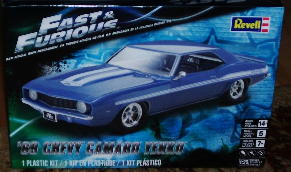 Fast And Furious Plastic Model Car Kits