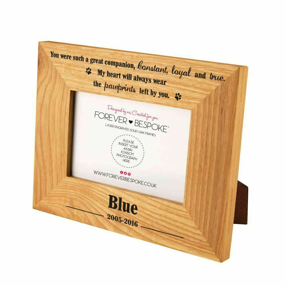 Personalised Dog Picture Frames