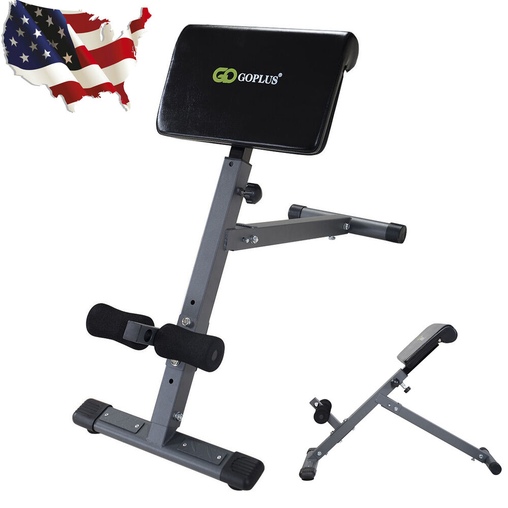 Ab back bench hyperextension home gym exercise abdominal