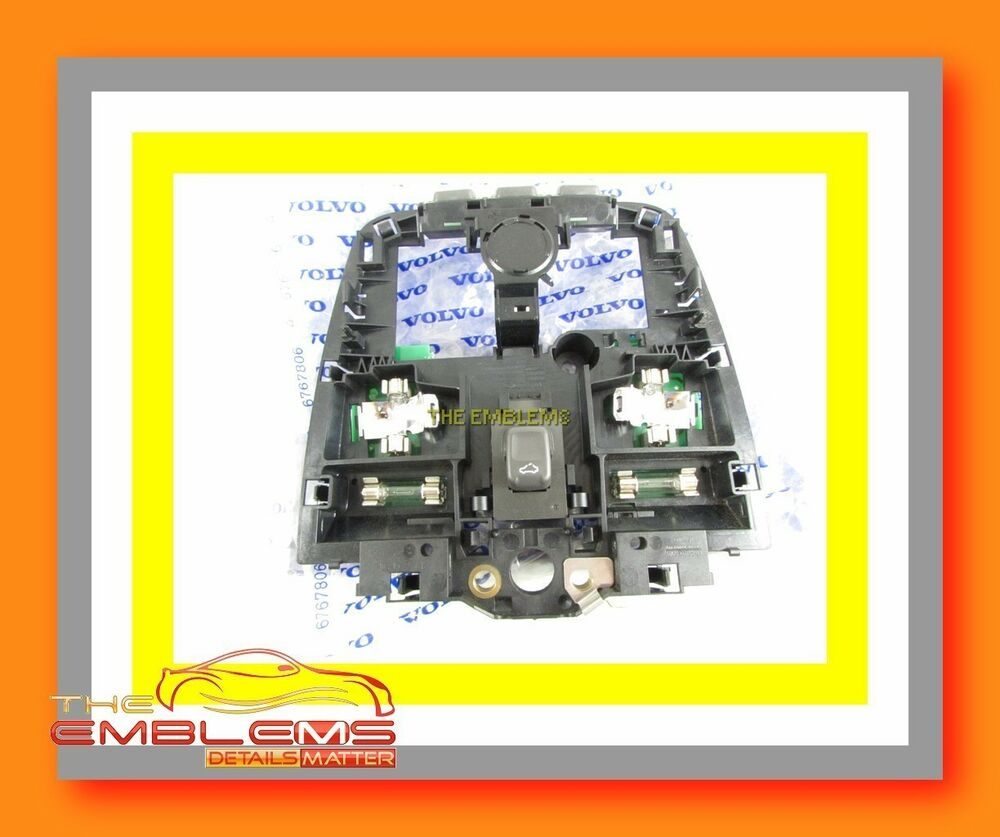 Dome Light Schematic Volvo Wiring 2019 New S60 S80 V70 Front Overhead Switch