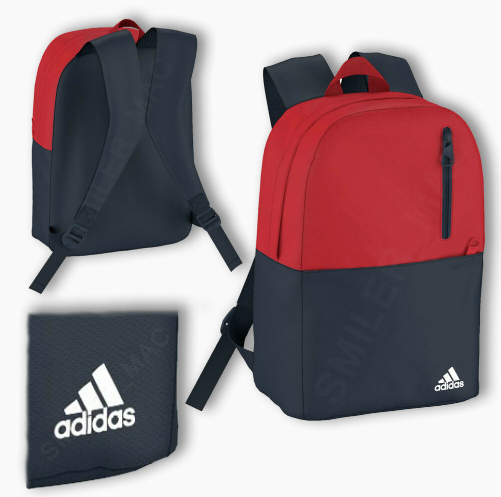 adidas mini backpack school gym college sport kids bag