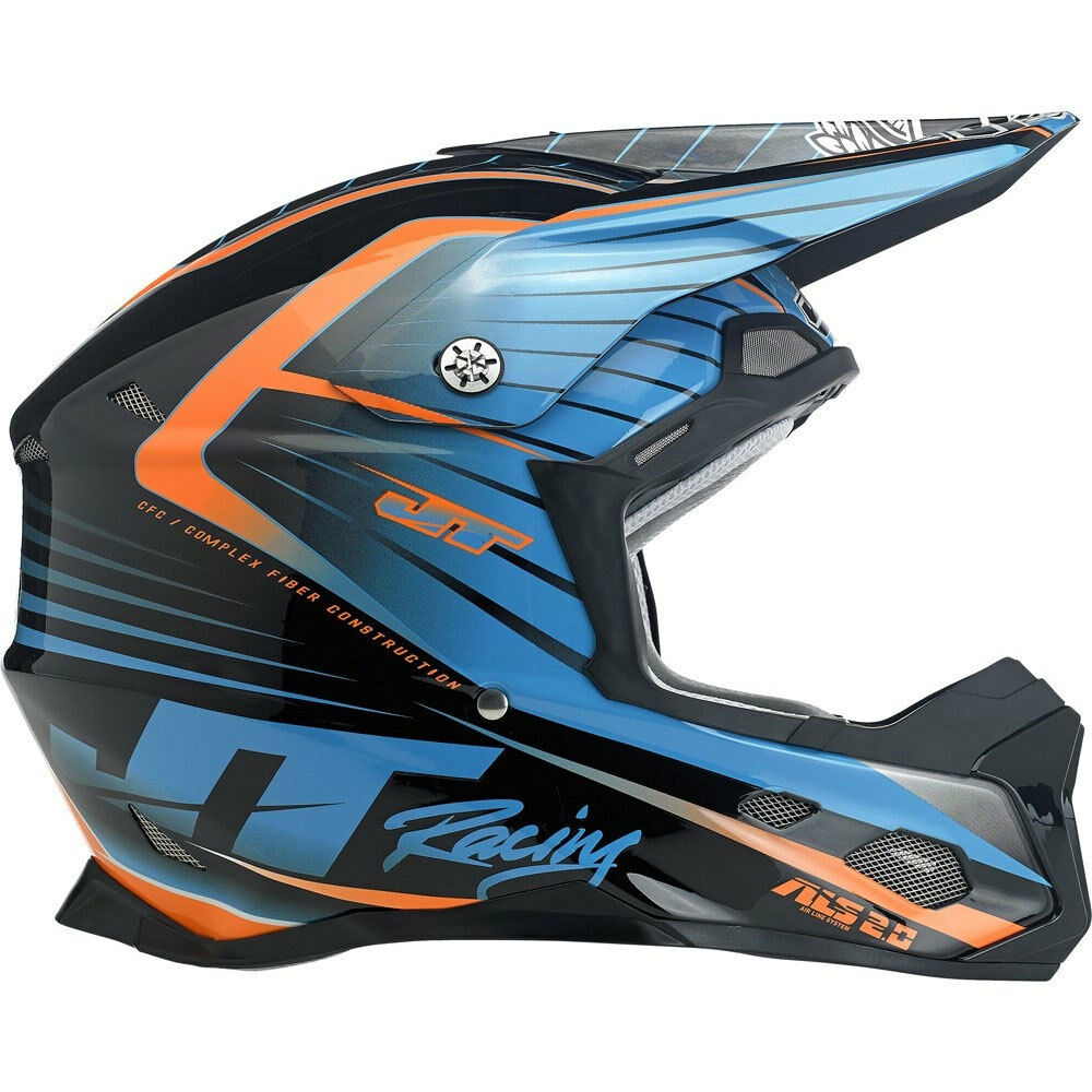 jt racing asl 2 motocross mx enduro bike helmet black. Black Bedroom Furniture Sets. Home Design Ideas