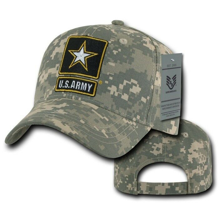 Details about United States Army Star US Universal Digital Camo Cotton  Baseball Ball Cap Hat f9707e9f674
