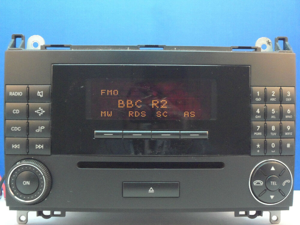 mercedes benz mf2750 car radio cd player w169 w245 a class. Black Bedroom Furniture Sets. Home Design Ideas
