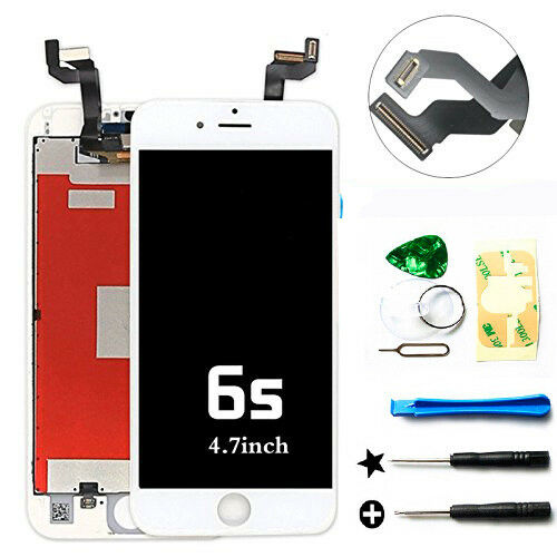 replace screen iphone 6 white lcd display touch screen digitizer assembly 15998