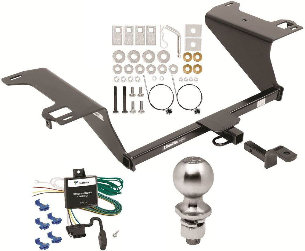 Complete Trailer Hitch Package W   Wiring Kit Fits 2014