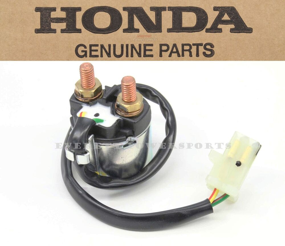 New Genuine Honda Starter Solenoid Switch 88 00 Trx300 Fw Fourtrax 300 4x4 W170 Ebay