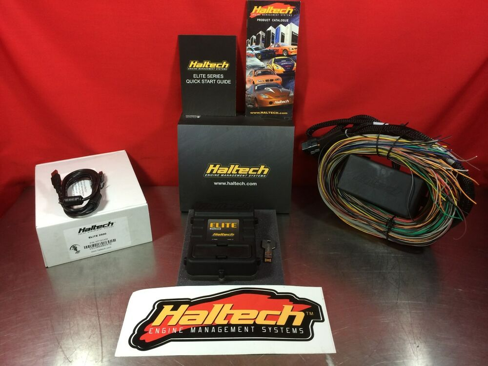 Haltech Elite 2500 Stand Alone Ecu With Premium Harness