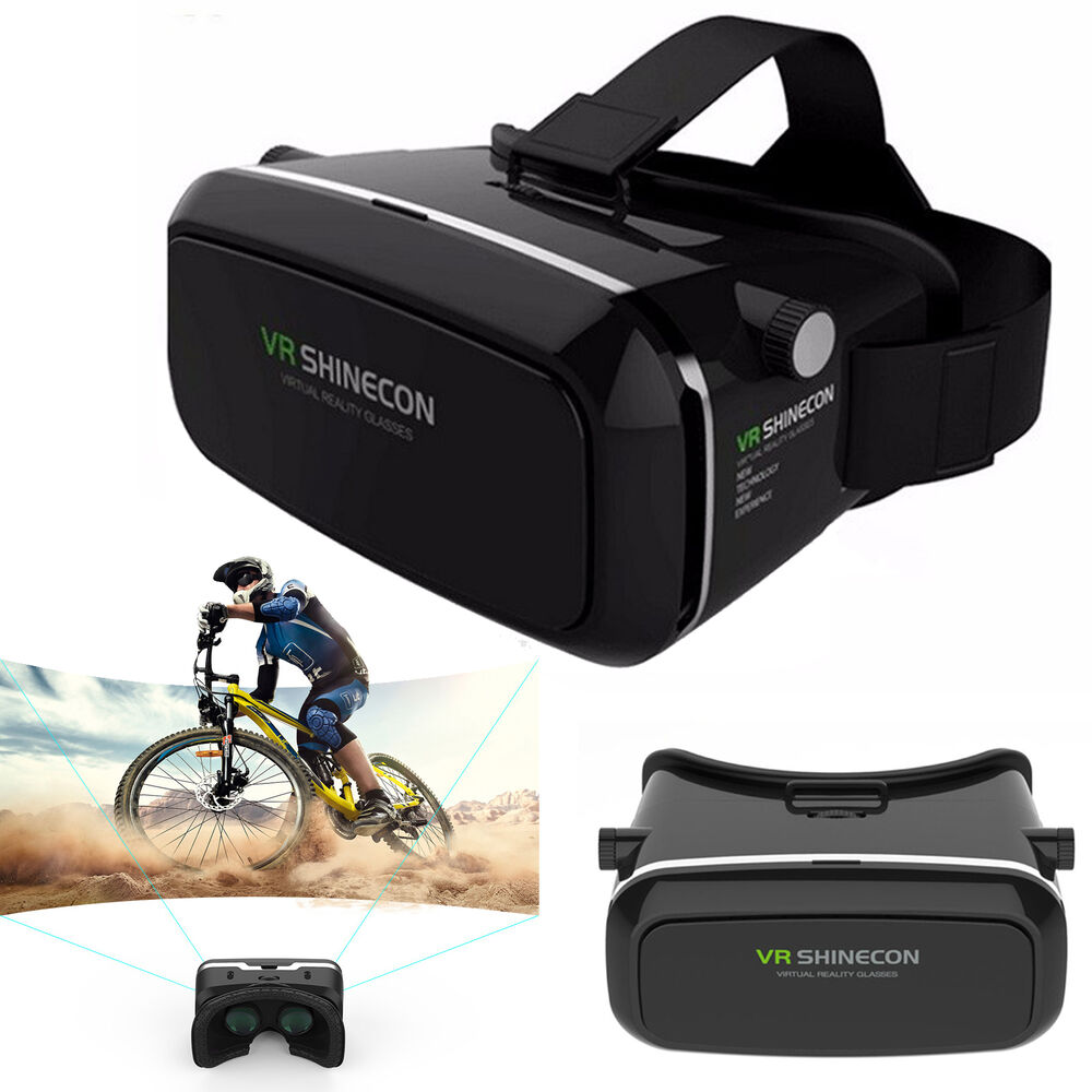 3D VR Virtual Reality Glasses For Samsung Galaxy S7 S6 S5 ...