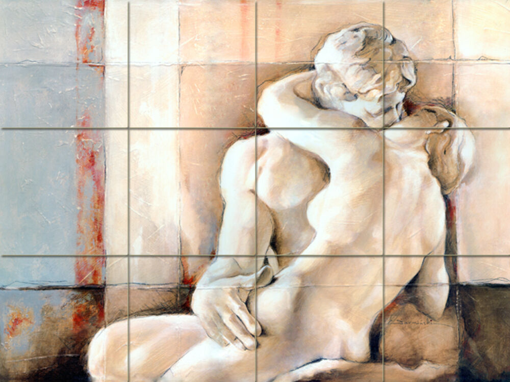 ceramic tile murals bathroom rodin mural ceramic backsplash bath tile 69 ebay 17646