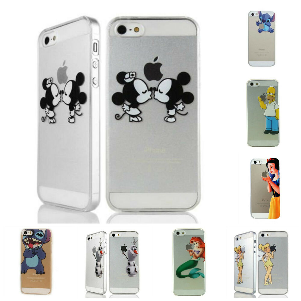 disney iphone cases disney elsa stitch mickey elsa transparent 10506