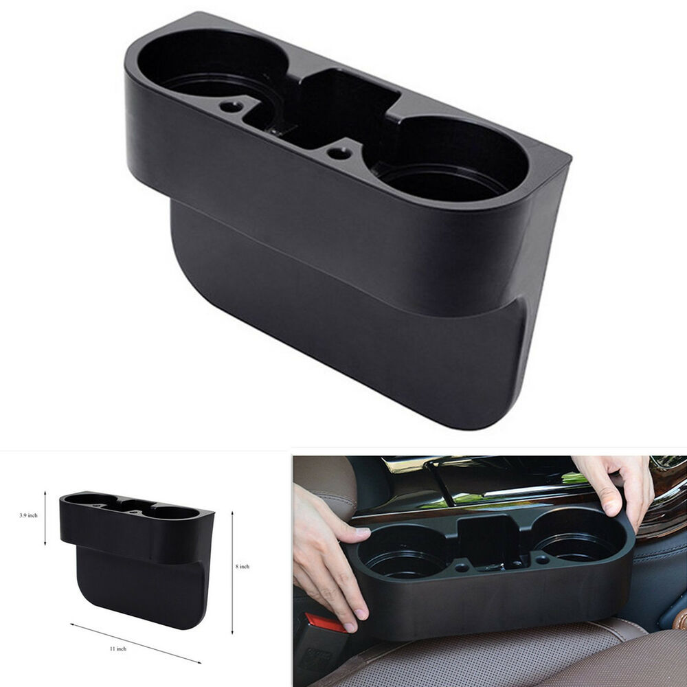 universal car rv truck seat seam wedge cup drink holder mount interior organizer ebay. Black Bedroom Furniture Sets. Home Design Ideas