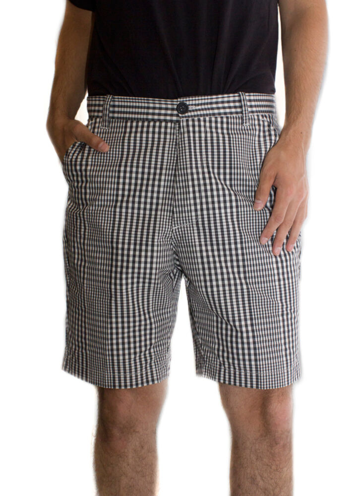 White Star Men's Checked Shorts perfect for Beach or Golf ...