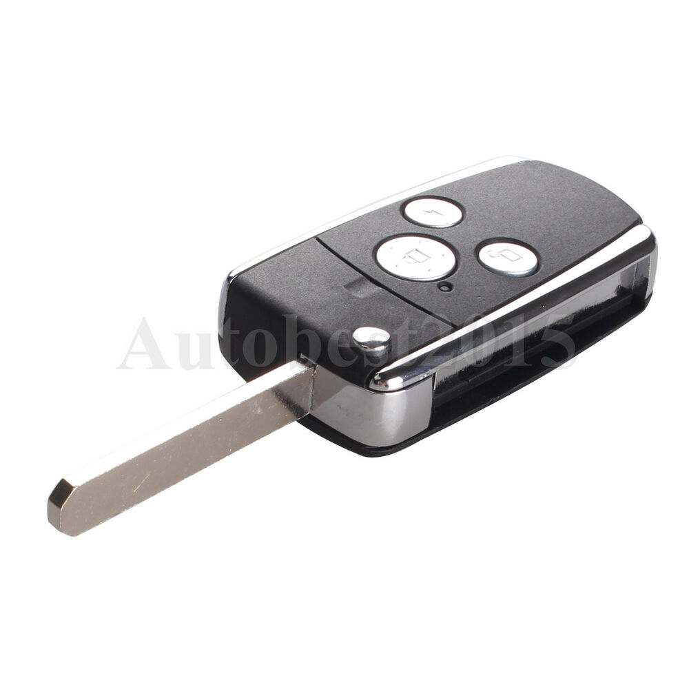 button remote modify flip folding key shell case  honda crv accord pilot ebay