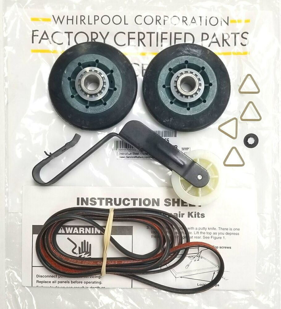 Genuine Oem 4392065 Ap3131942 Ps373087 341241 691366 Whirlpool Our Cabrio Wed6200sw1 Is Not Working The Power Kenmore Dryer Kit 731847421214 Ebay