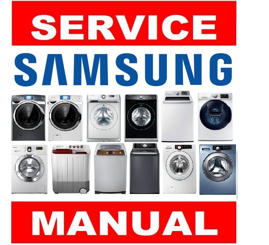 Samsung Washer And Dryer Service Repair Manual
