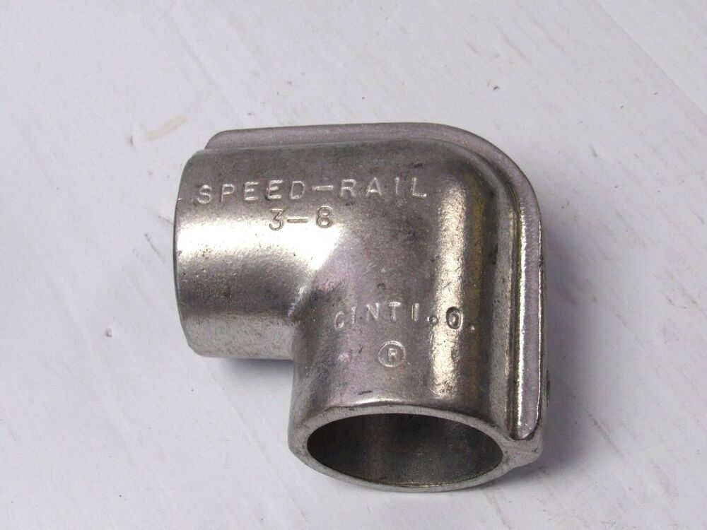 New speed rail aluminum ° elbow structural fitting