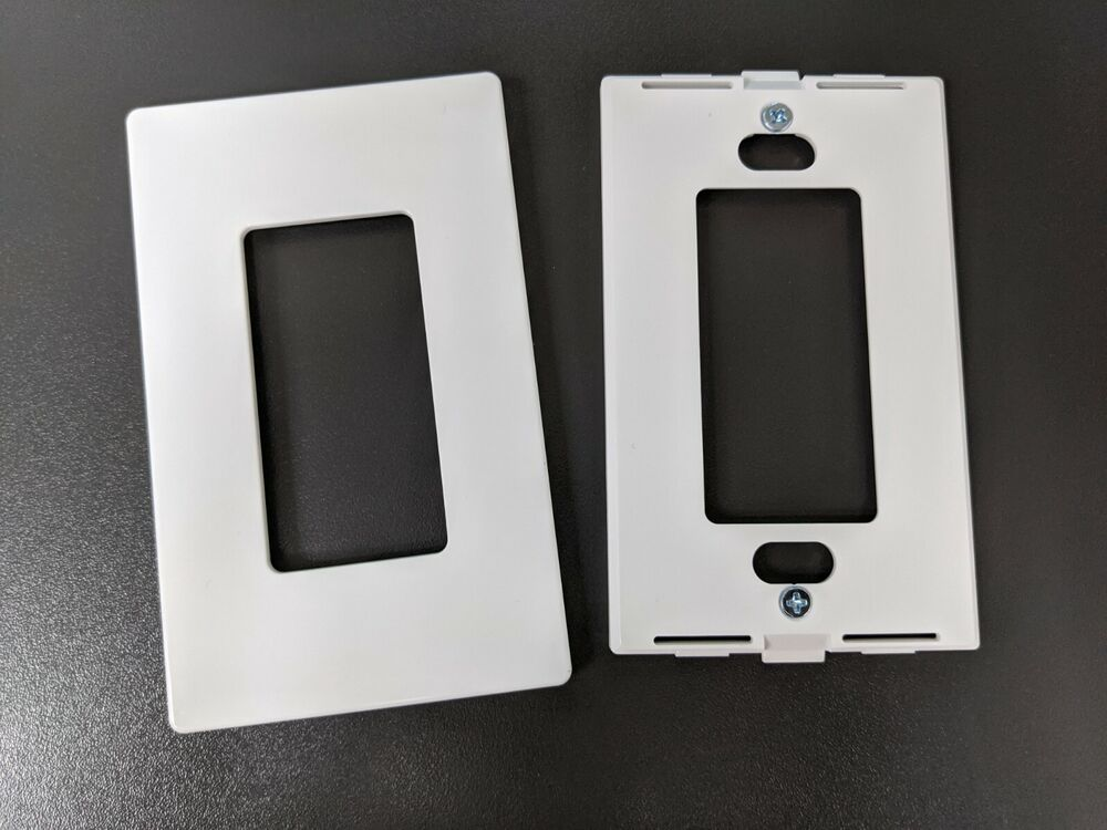 50 Pc 1 Gang Screwless Wall Plate Decora Decorator Gfci