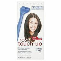 Clairol Nice'n Easy Root Touch Up Permanent Hair Colour - 4 Dark Brown