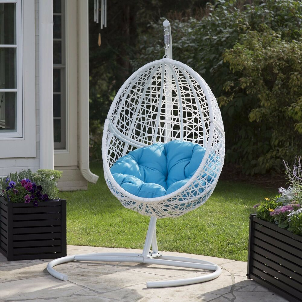 Patio Chair Egg Outdoor Furniture Swing Wicker Hanging