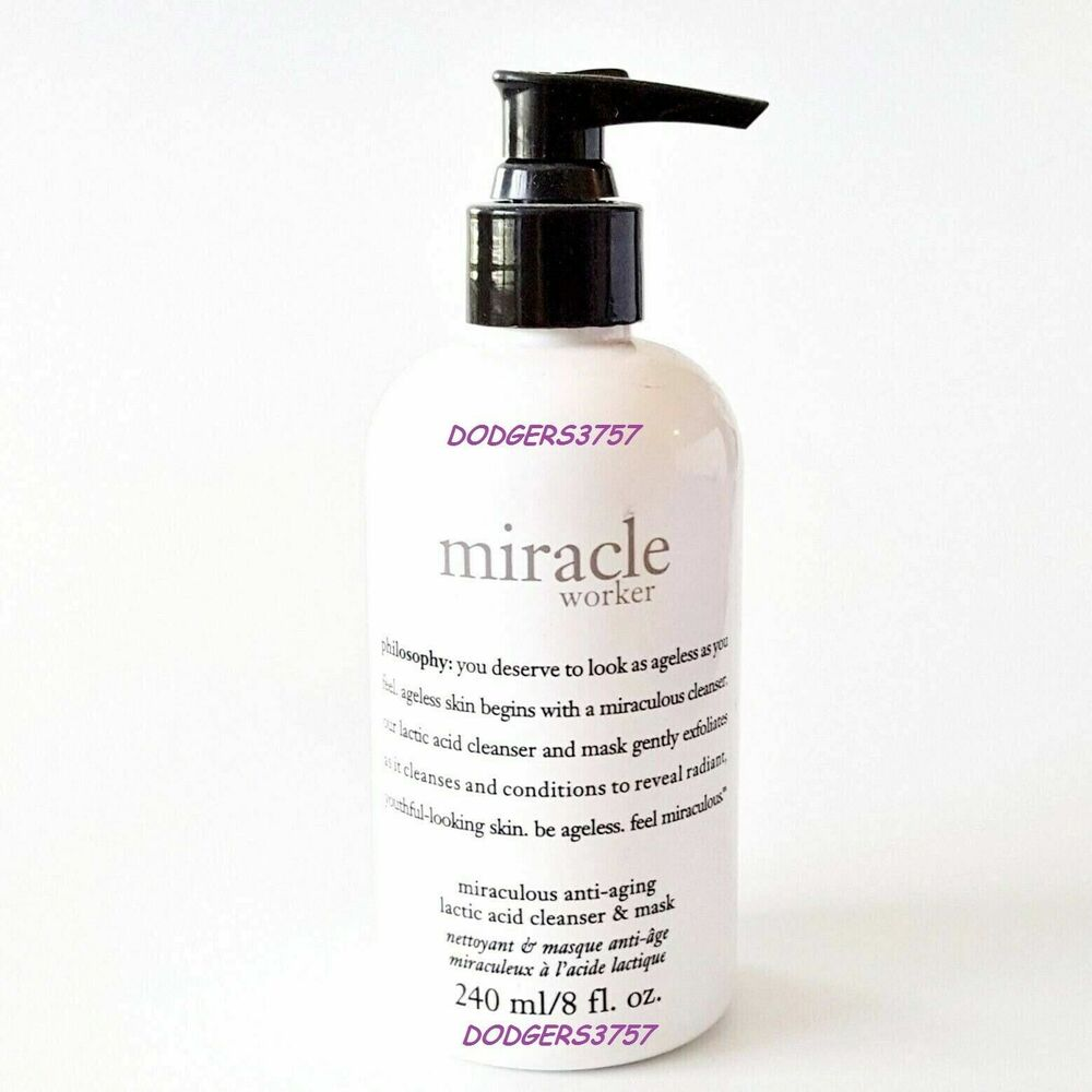Philosophy Miracle Worker Lactic Acid Facial Cleanser